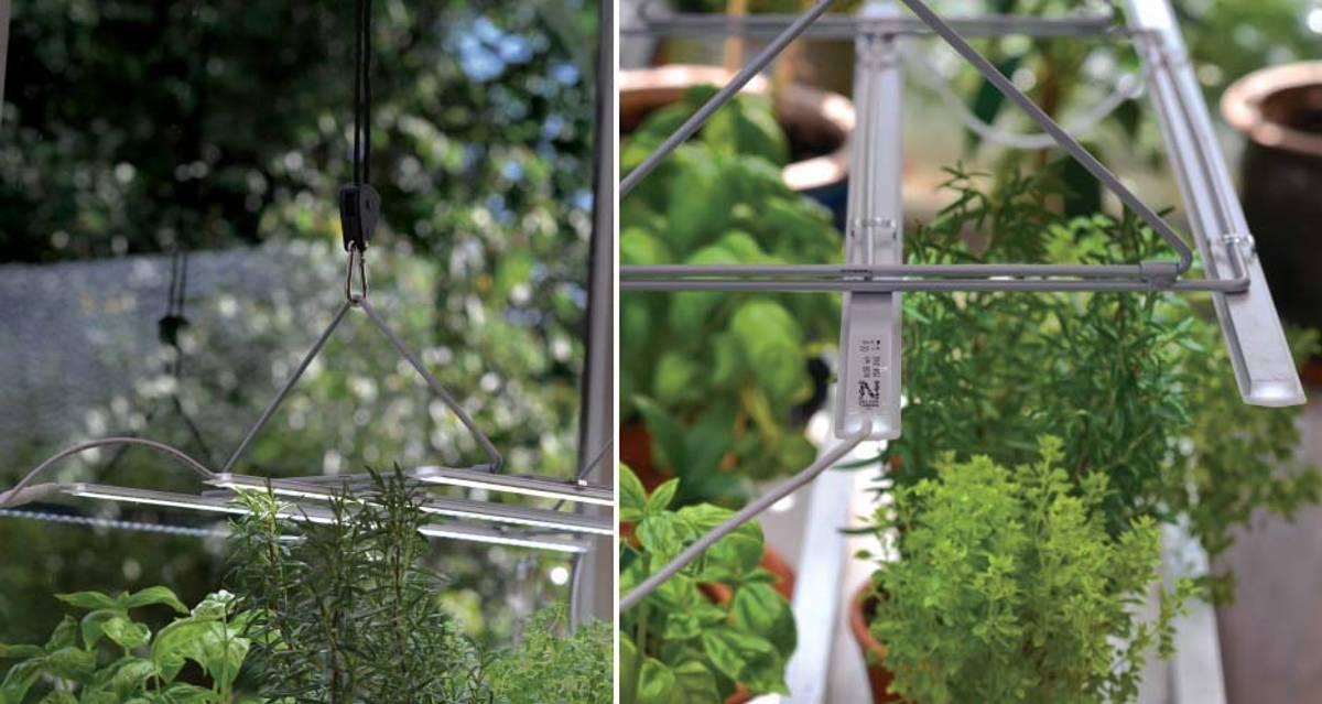 LED Plantelys, Lyslist 60 cm utvidelse